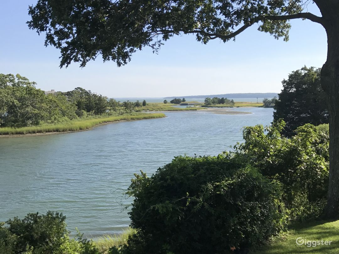 View from house facing water view. (Peconic)