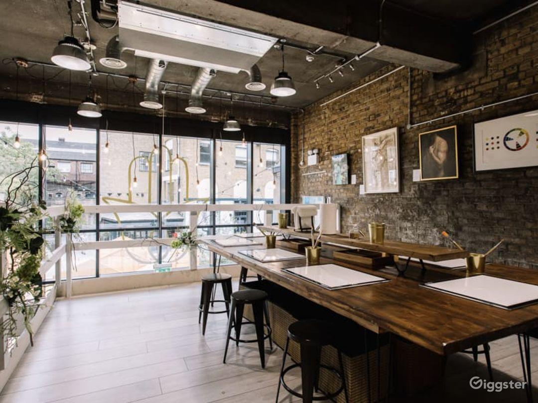 Versatile Mezzanine Venue in London Photo 1