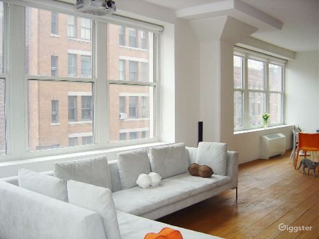 Contemporary Tribeca apartment: Location 4037 Photo 1
