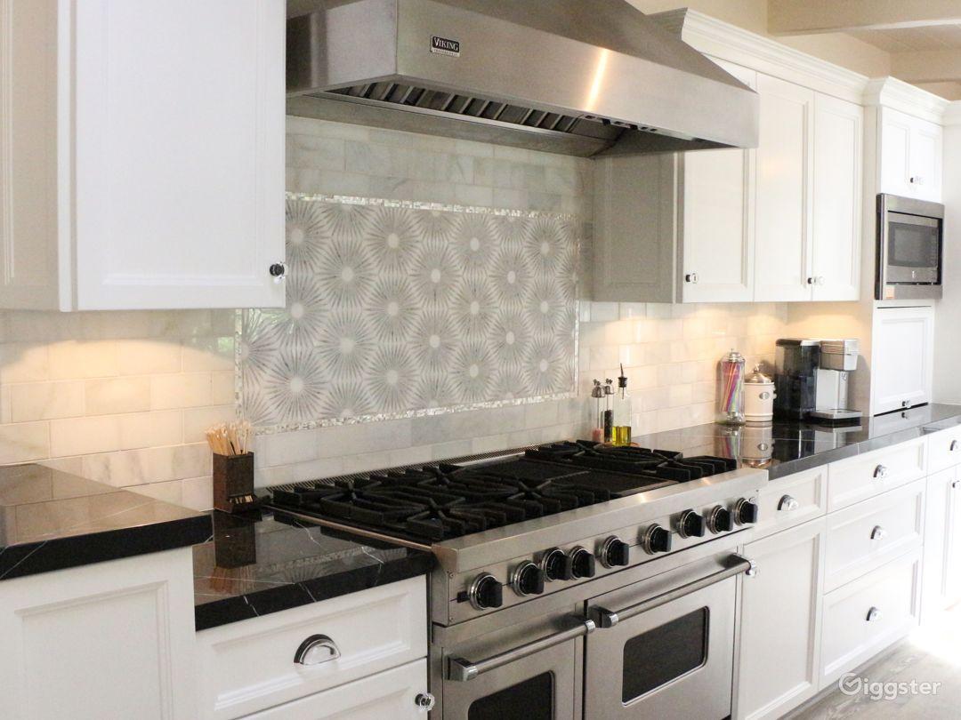 New Marble Kitchen