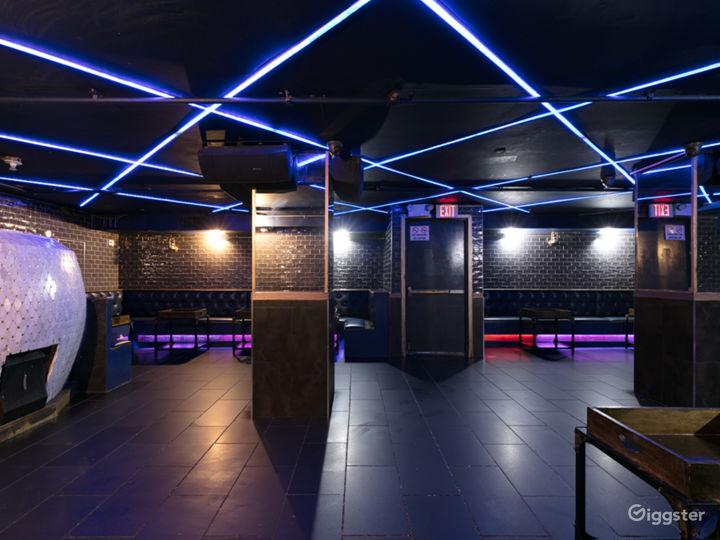 Modern French-Style Night Club