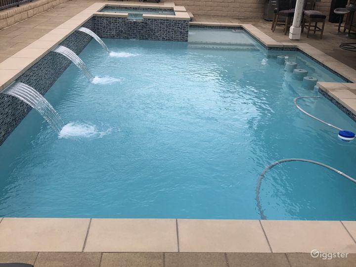Suburban Home with modern pool Photo 3