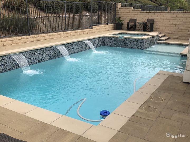 Suburban Home with modern pool Photo 5