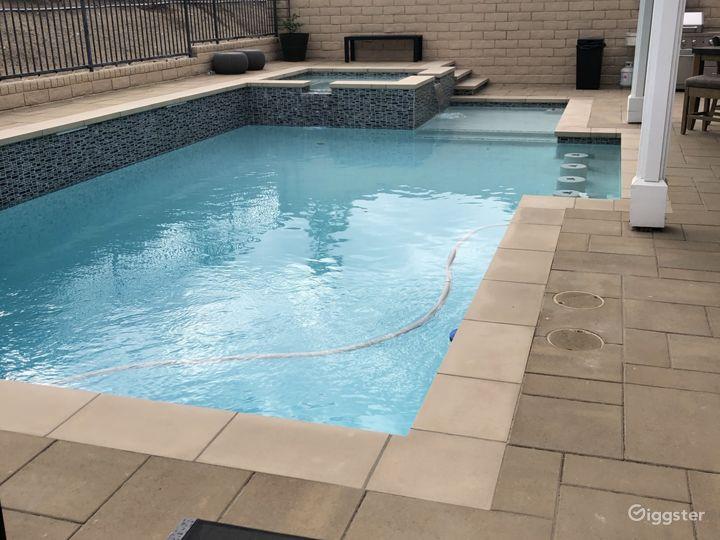 Suburban Home with modern pool Photo 4