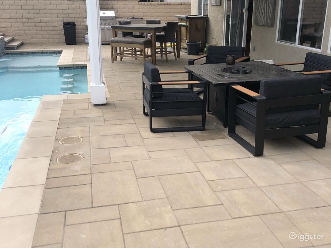 Suburban Home with modern pool Photo 1