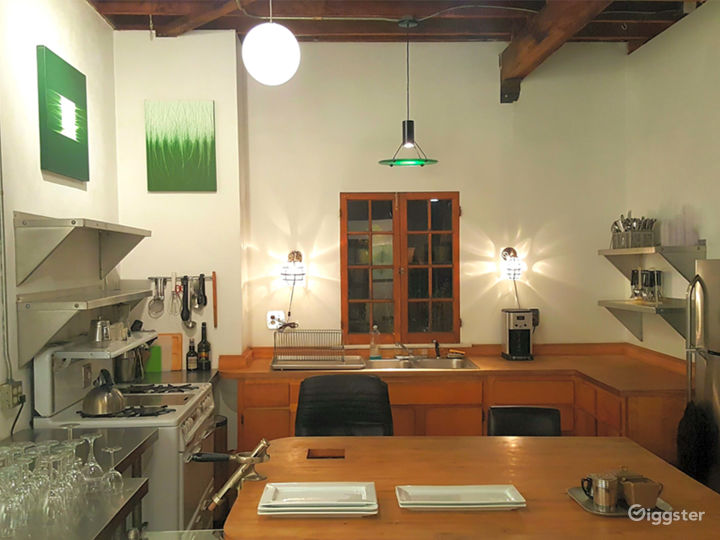 Art Gallery & NYC style Loft w/ Kitchen Photo 4