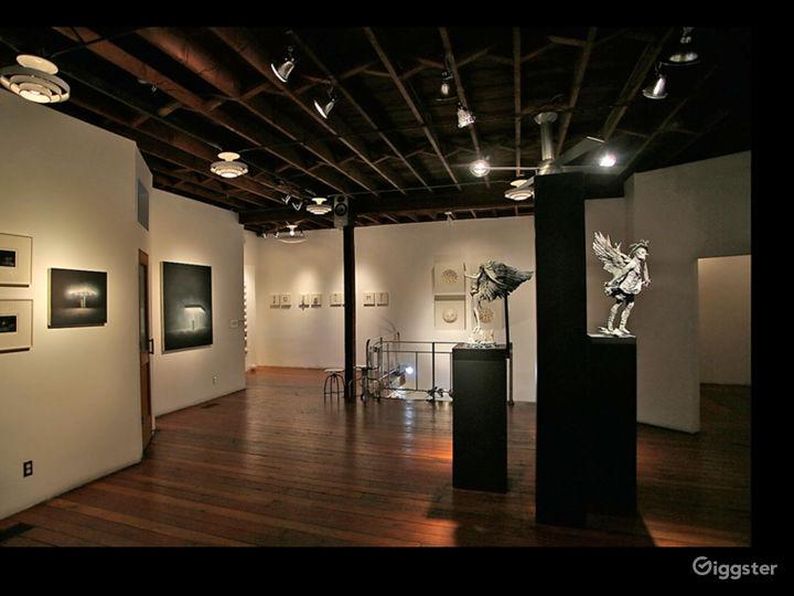 Art Gallery & NYC style Loft w/ Kitchen Photo 2