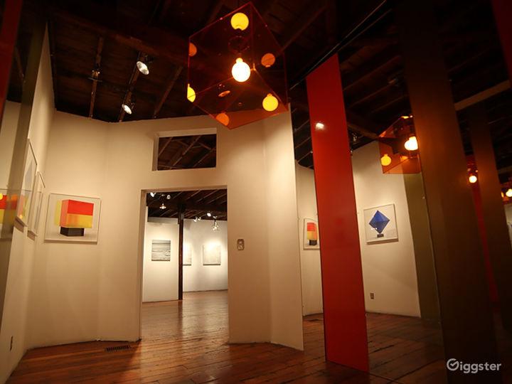Art Gallery & NYC style Loft w/ Kitchen Photo 3