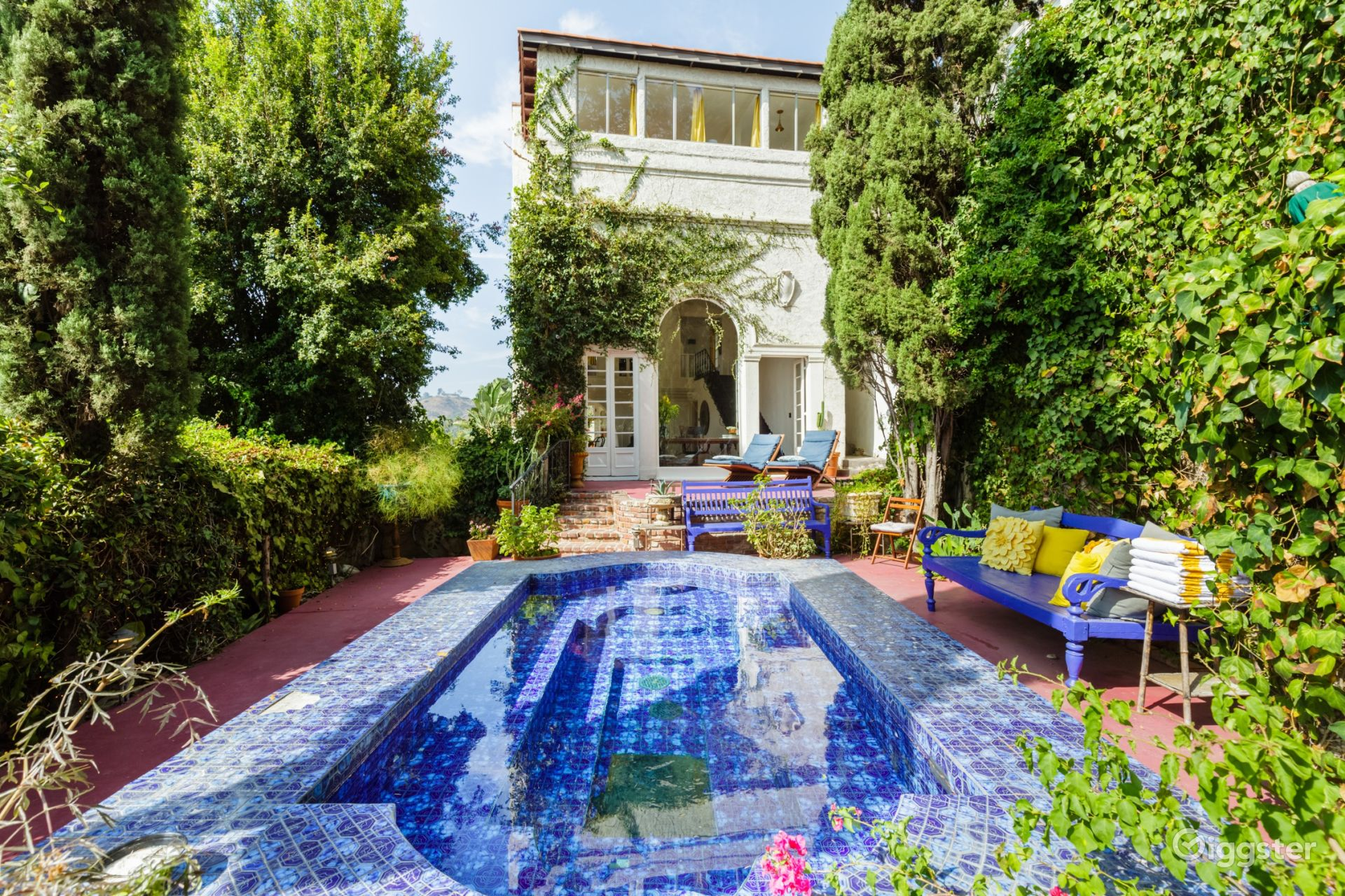Spanish Style Retro Hollywood Home in Hollywood Los Angeles Rental