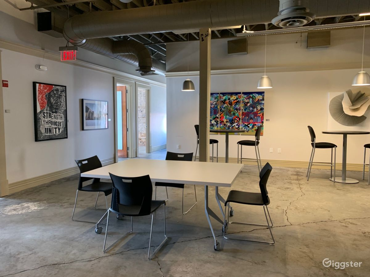 Rent The Event Space, Office(commercial) Downtown Atlanta, Loft Style  Location