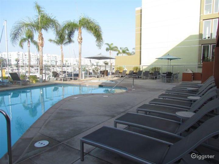 Resort-Style Pool Area in LA Photo 5