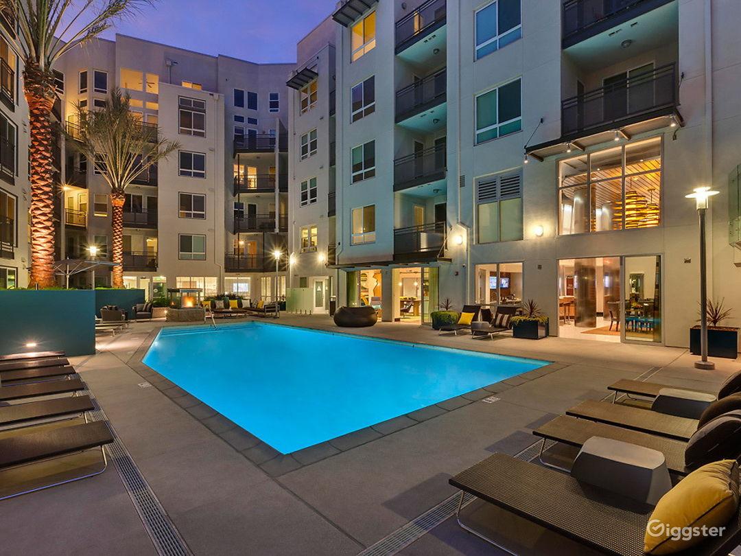 Resort-Style Pool Area in LA Photo 1