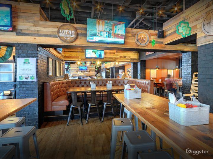 Cozy Semi-Private Dining Space in Georgia Photo 4