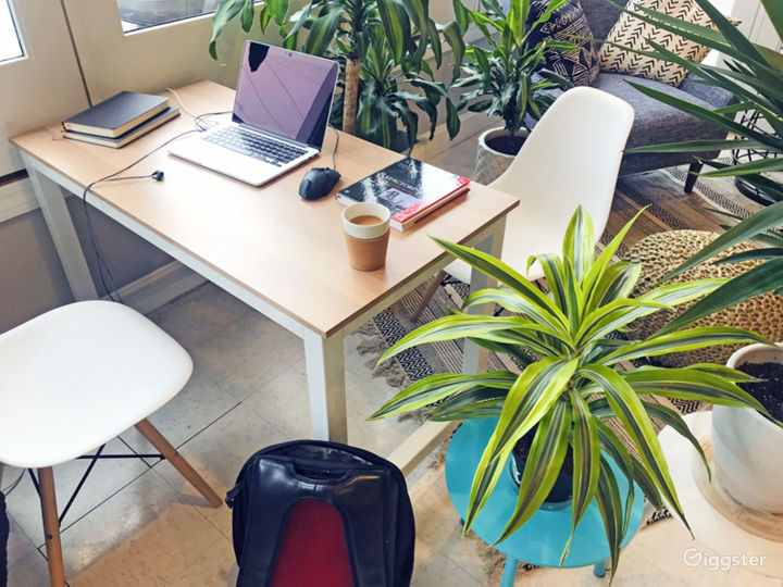 Get your work done in a comfortable setting
