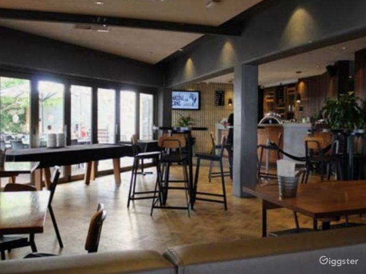 Indoor Main Bar & Outside Side Beer Garden for Parties Photo 2