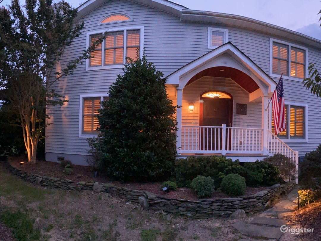 Front of the house.