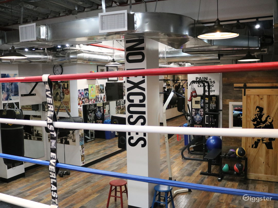 Ground Floor: View From 20x20 Boxing Ring Inside Women's World of Boxing