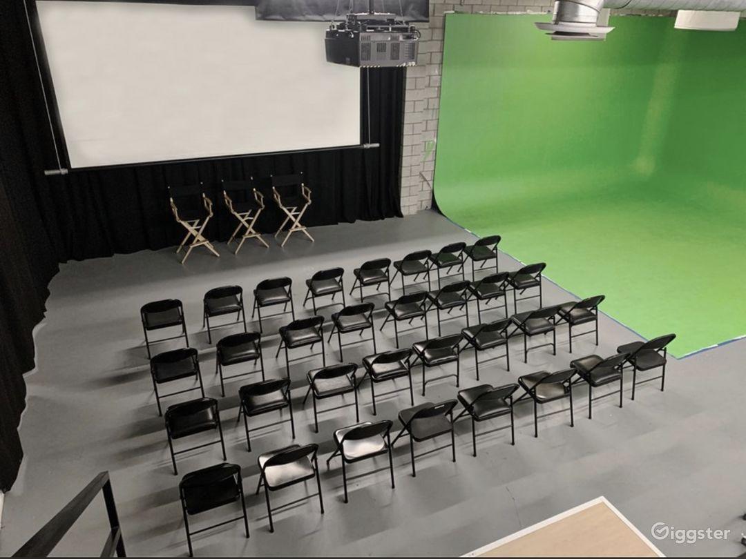 SCREENING ROOM -  16ft x 9ft Screen SEATS 36  / 5.1 surround