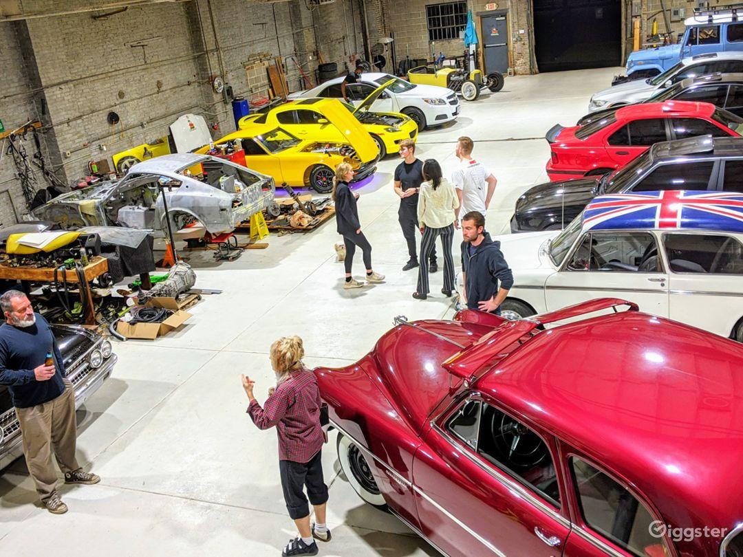 West Side Workshop - Car Show Day