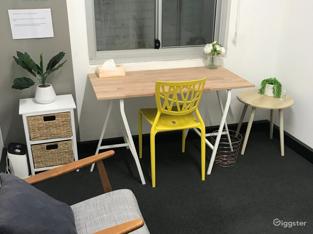 Private office space available for casual hire.