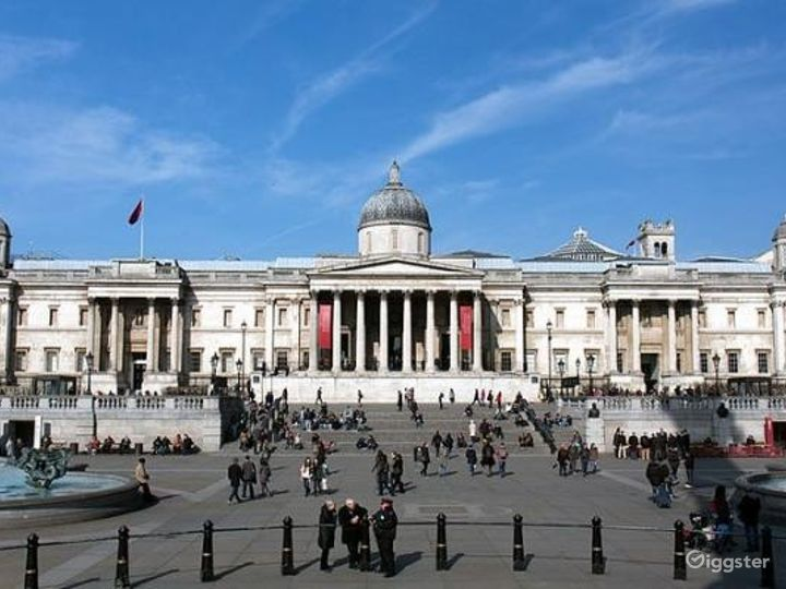 Portico Terrace in The National Gallery, London Photo 3