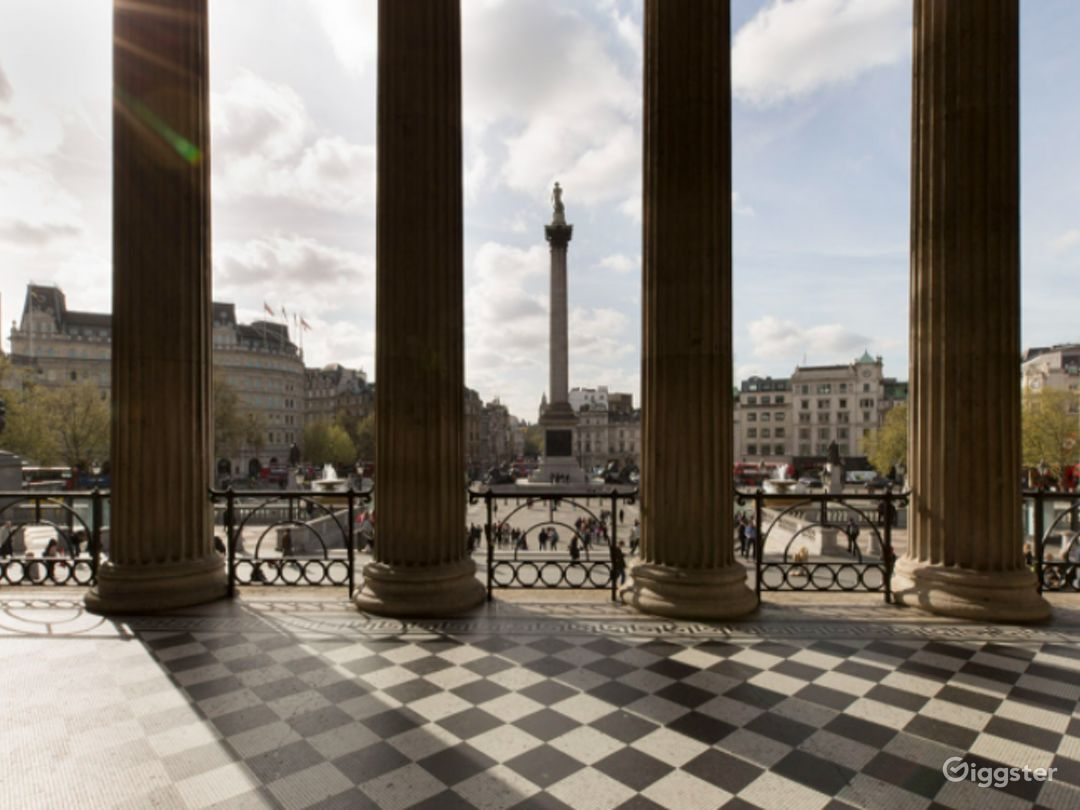 Portico Terrace in The National Gallery, London Photo 1