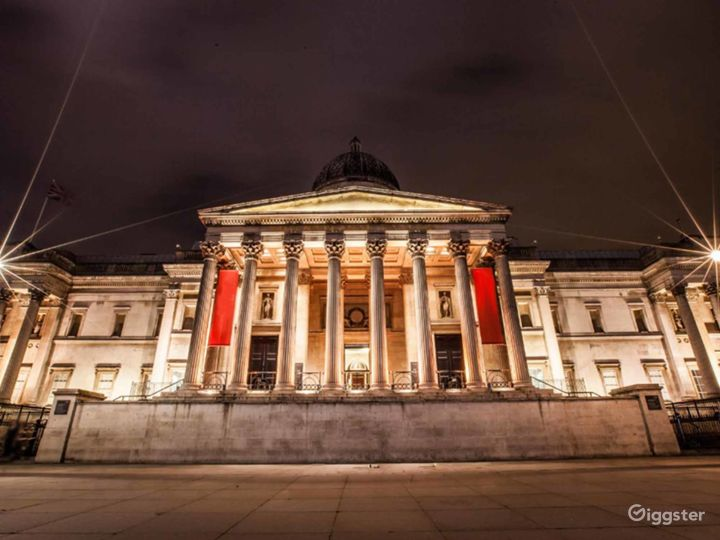 Portico Terrace in The National Gallery, London Photo 5