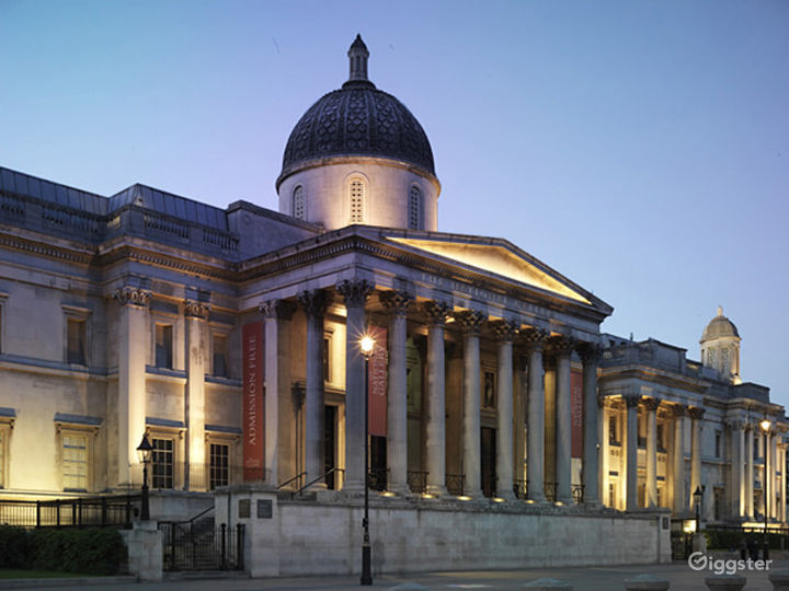 Portico Terrace in The National Gallery, London Photo 4