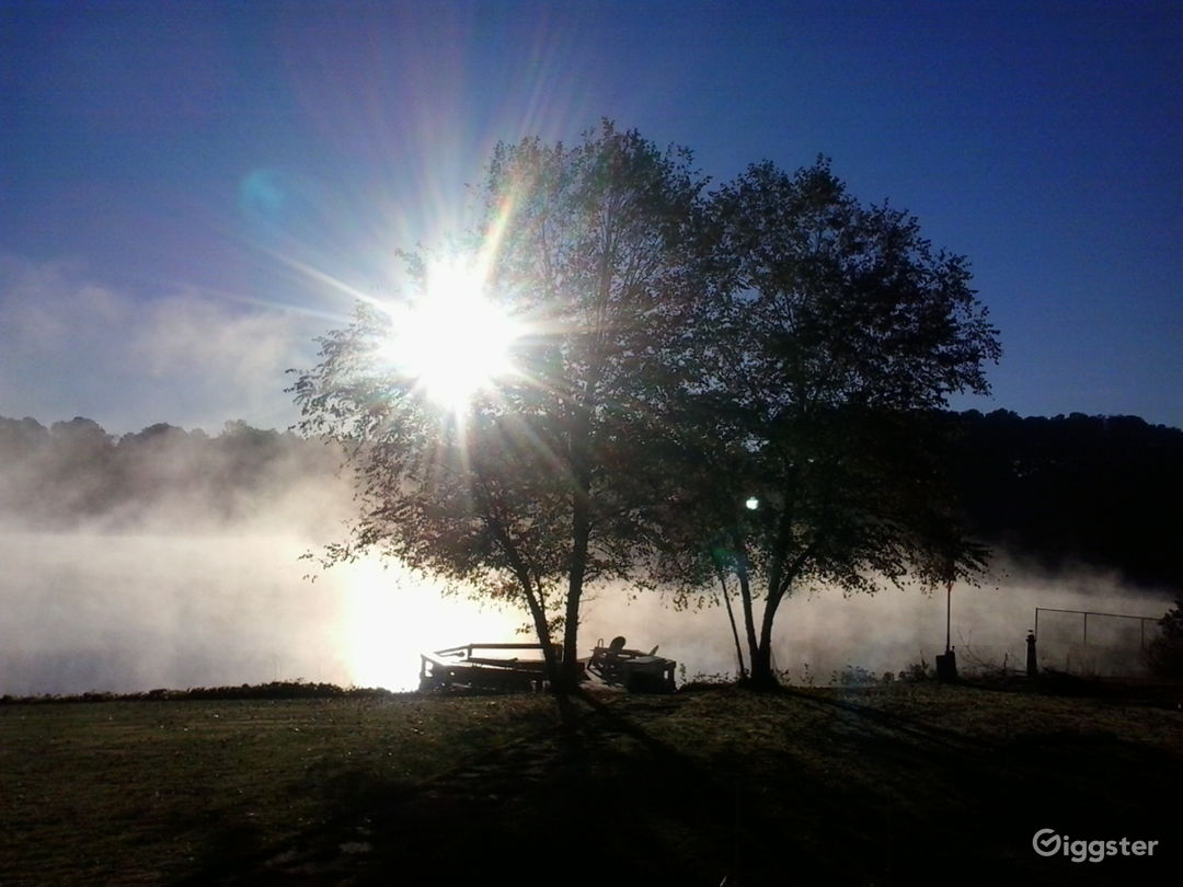 Cool Morning Mist Lakeview