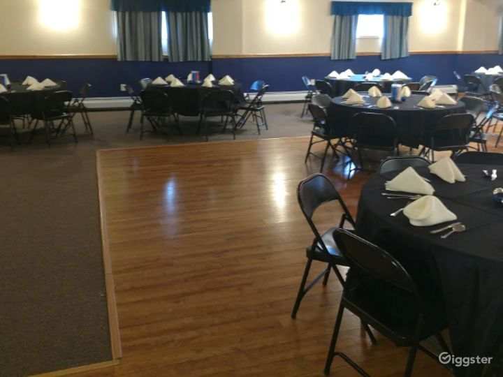 Grand and Vivid Events Venue Upstairs in Newton  Photo 5