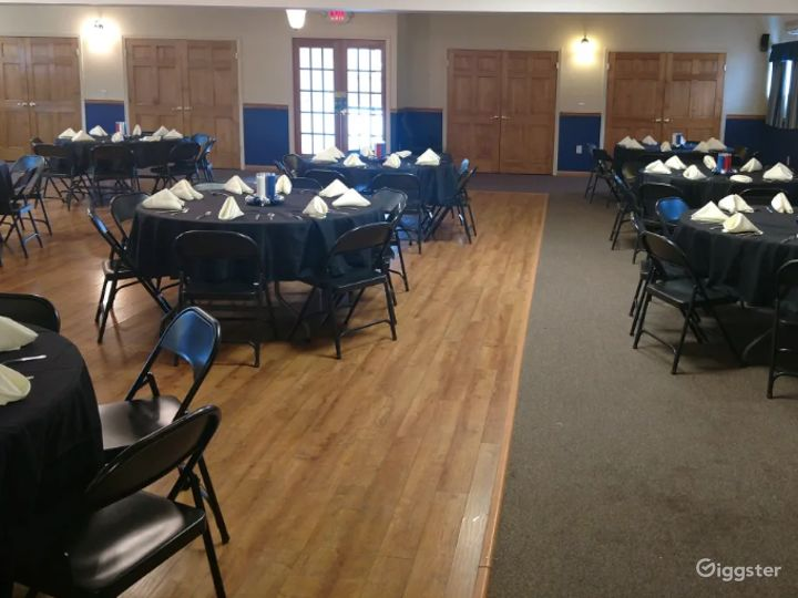 Grand and Vivid Events Venue Upstairs in Newton  Photo 3