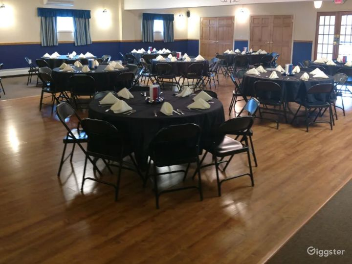 Grand and Vivid Events Venue Upstairs in Newton  Photo 2