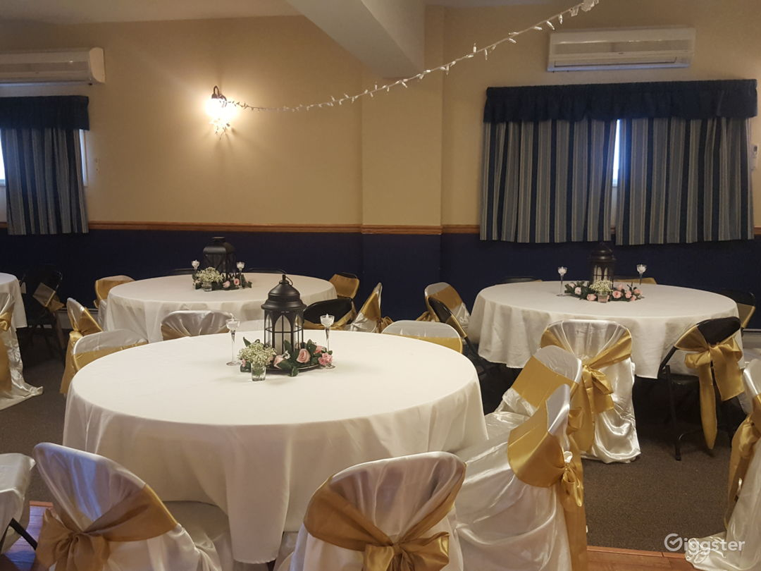 Grand and Vivid Events Venue Upstairs in Newton  Photo 1