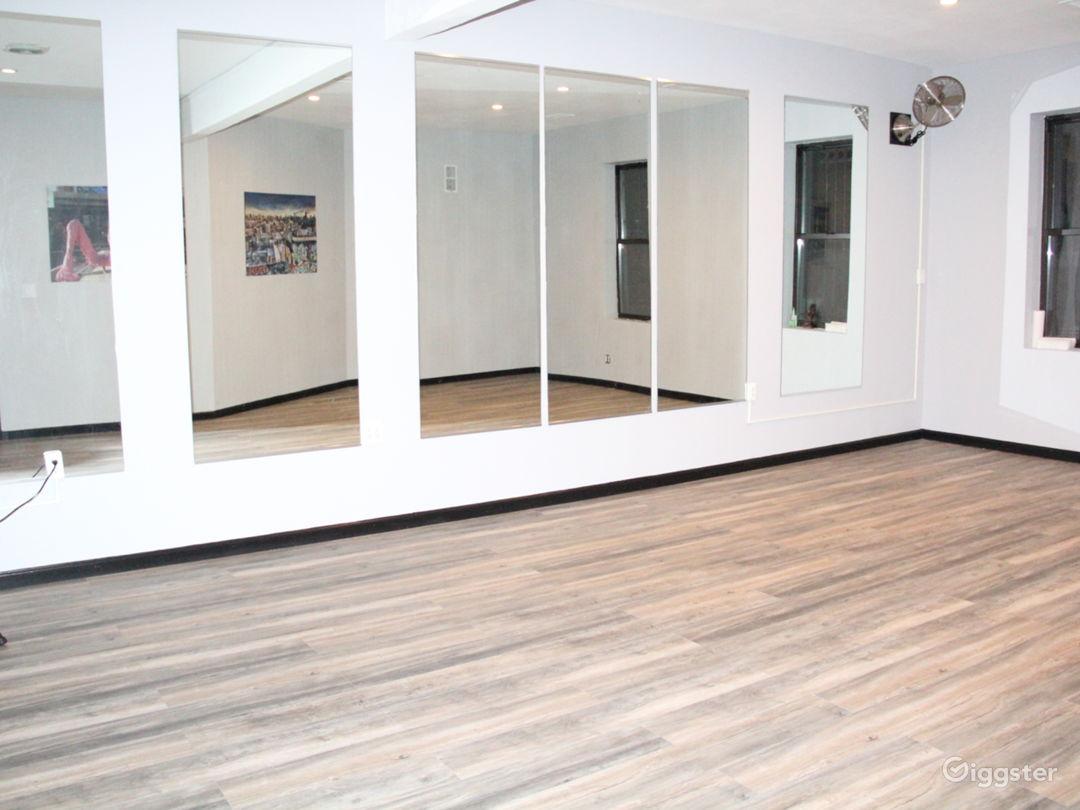 Main room mirrors