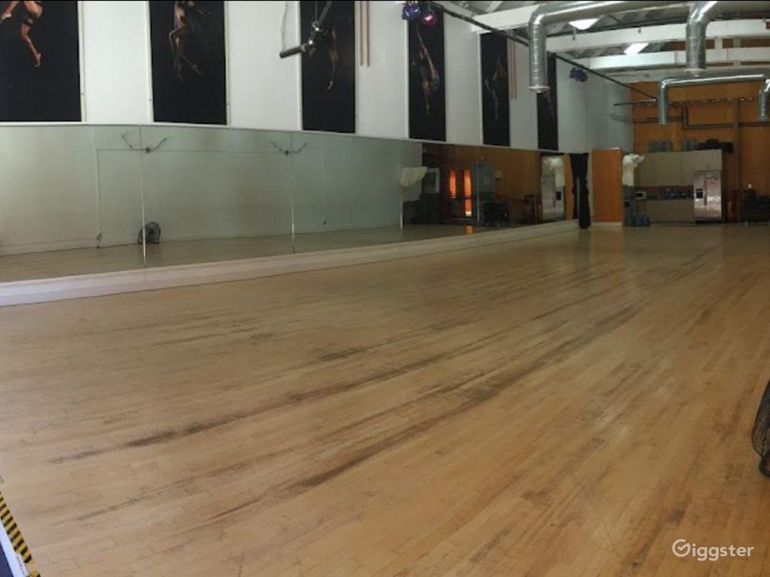 Enormous 2400 sq. ft. Studio World Dance & Cultural Center Photo 1