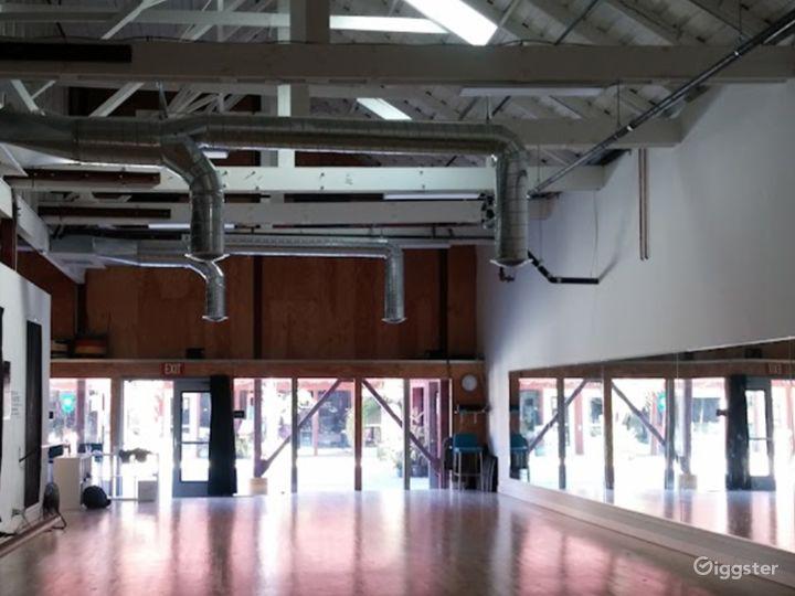 Enormous 2400 sq. ft. Studio World Dance & Cultural Center Photo 2