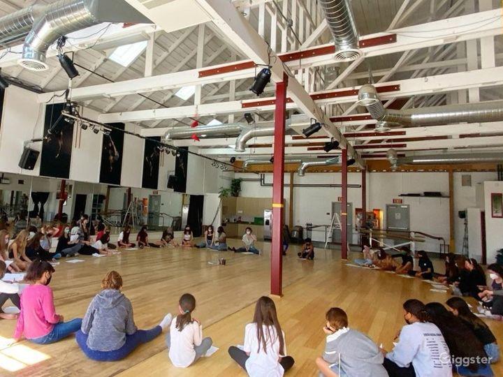 Enormous 2400 sq. ft. Studio World Dance & Cultural Center Photo 5