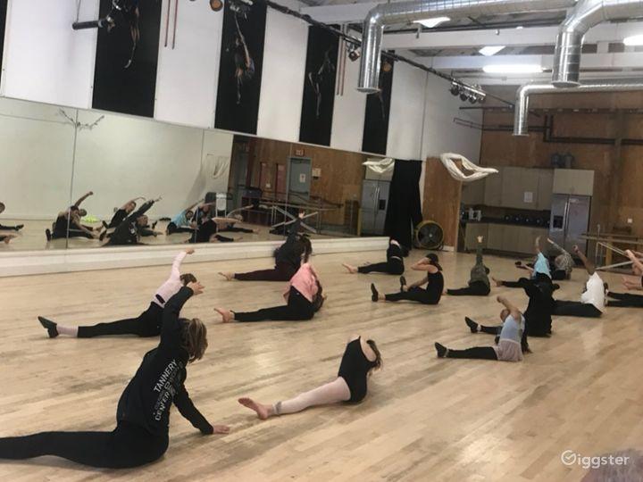 Enormous 2400 sq. ft. Studio World Dance & Cultural Center Photo 4