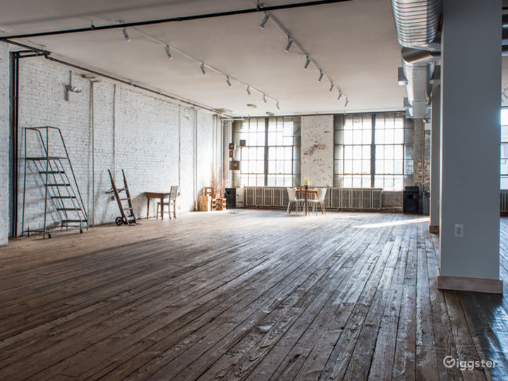 3200sq/ft Renovated Brookyn Warehouse Photo Studio