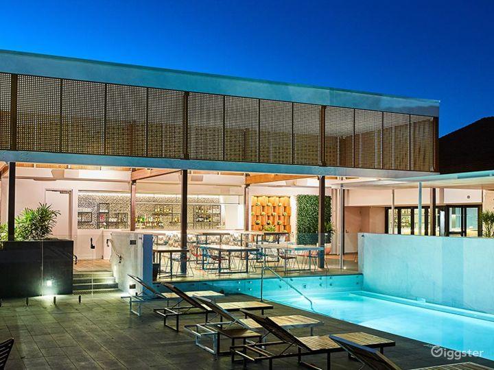 Cabana Pool Bar & BBQ Outdoor Space Photo 2