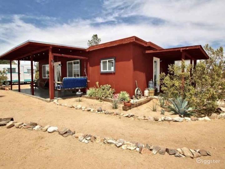 520 square foot desert cabin