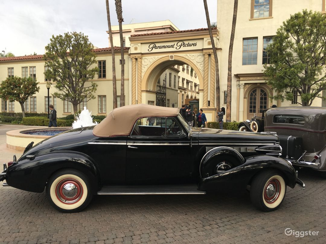 1938 Buick Century Convertible in Black Photo 1
