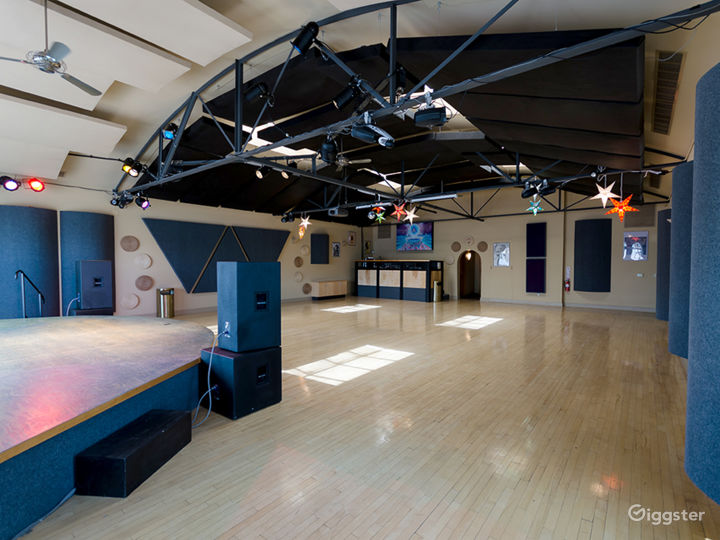 Main Event & Performance Hall - View 2