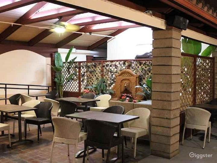 Dining Area with Pool Photo 5