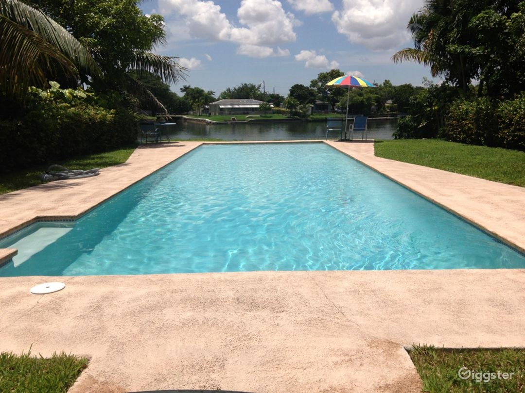 Private Residential 50ft Pool Overlooking Lake Photo 1