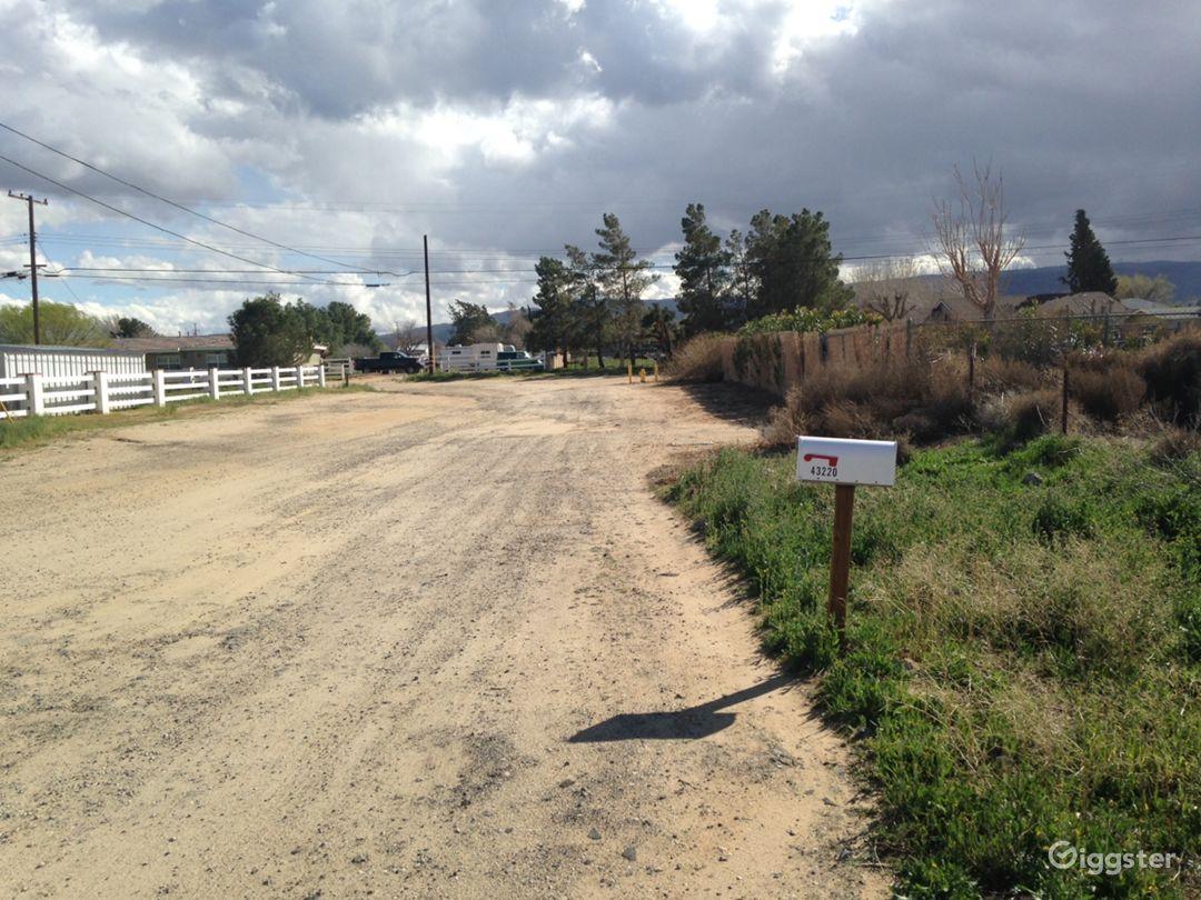 Brush desert area next to pipeyard Photo 1