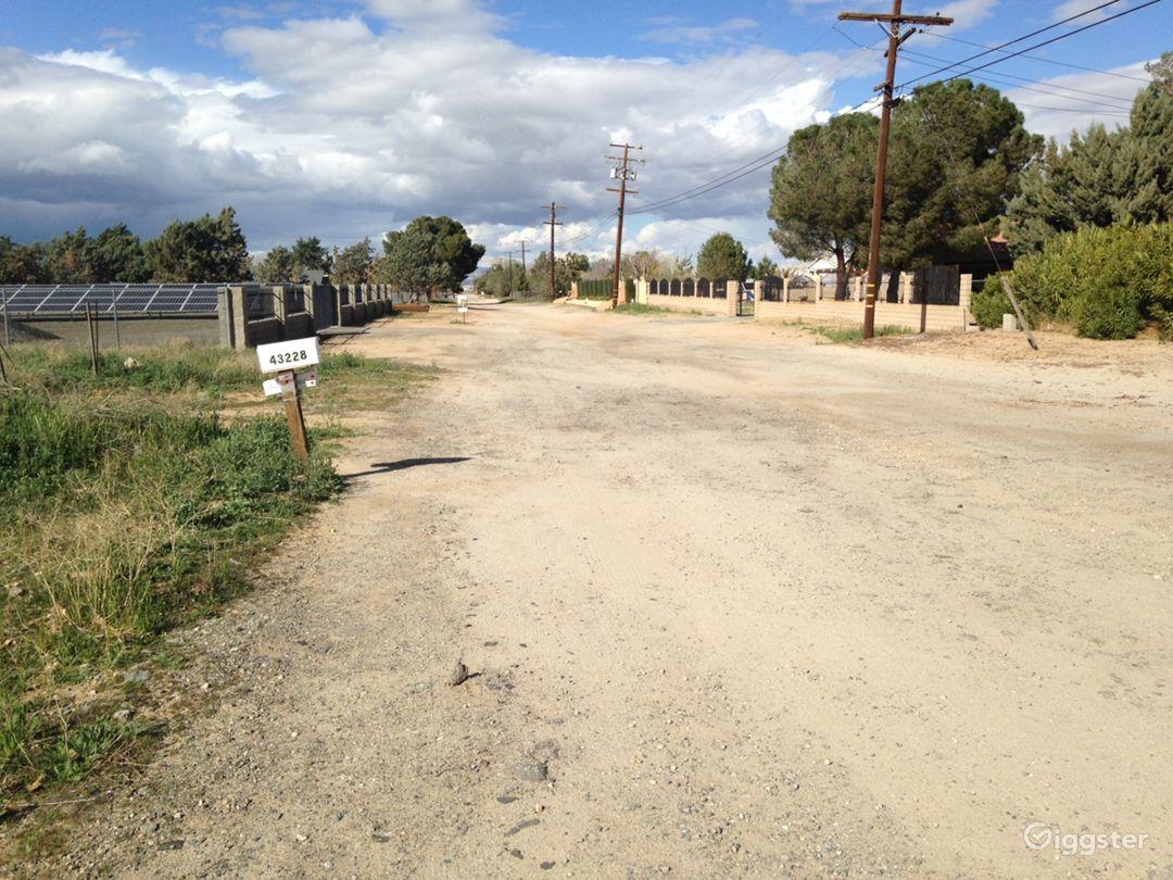Brush desert area next to pipeyard Photo 2
