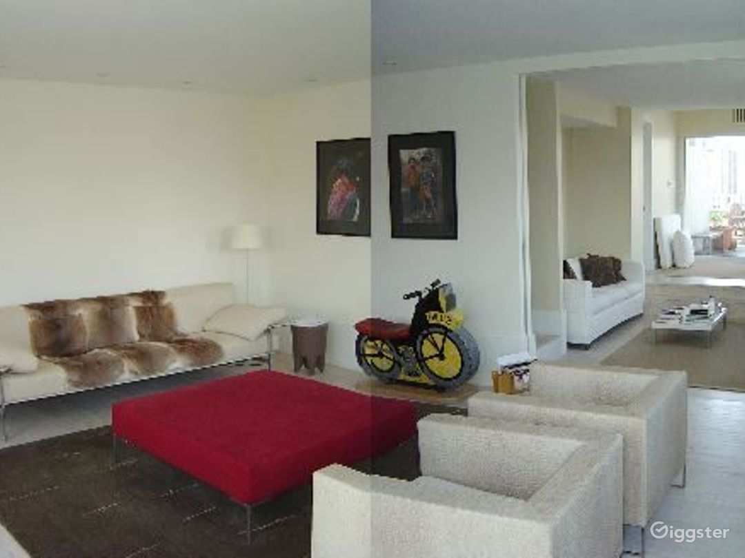 Upscale penthouse with roof terrace: Location 3115 Photo 1