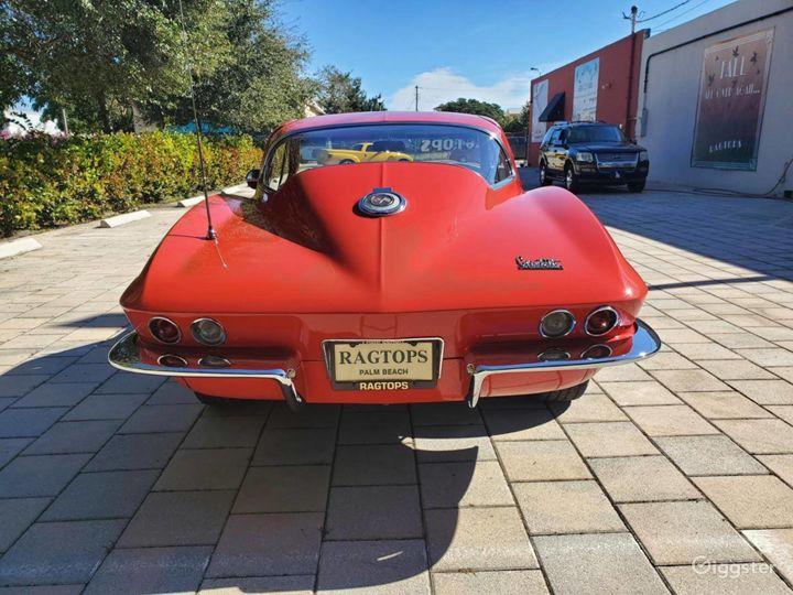 Seductive Red 1966 Chevrolet Corvette  Photo 2
