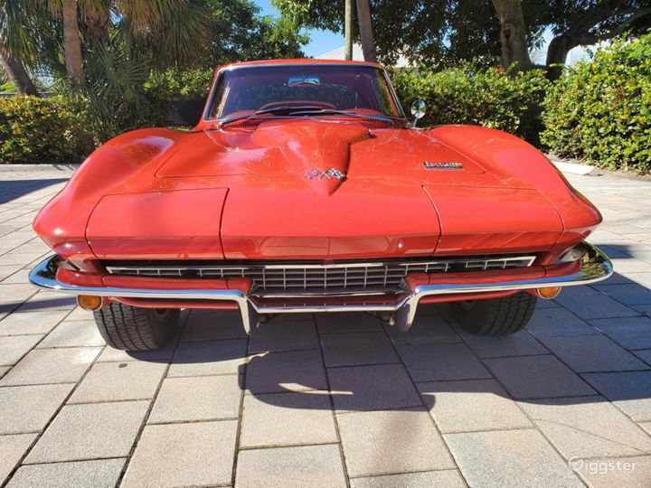 Seductive Red 1966 Chevrolet Corvette